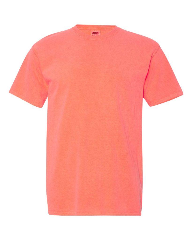 Neon Red Orange
